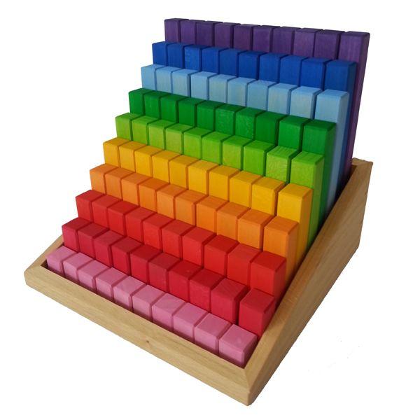 Junior-Treppe 100 Teile Bauspiel
