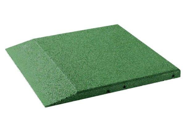 Fallschutz Randplatten 40mm hoch, 500x500x40 mm
