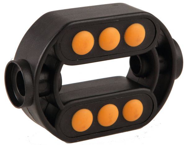 60509 Pedal, gelb/schwarz