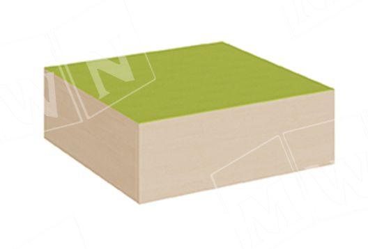 Quadrat Podest 70x70cm geschlossen