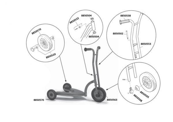 8900475 Ersatzteile für Winther Safety Roller
