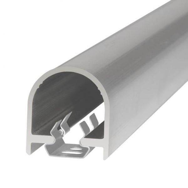 Abdeckprofil für Türen für 2 Teile 1755mm U-Clip