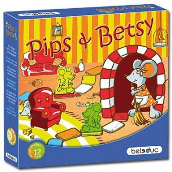Brett-und Lernspiel Pips und Betsy 2-4 Spieler