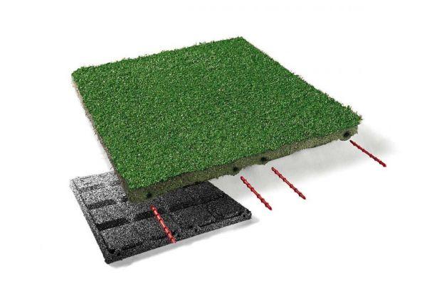 Teppichplatte 500x500 in 30 und 45 mm Höhe