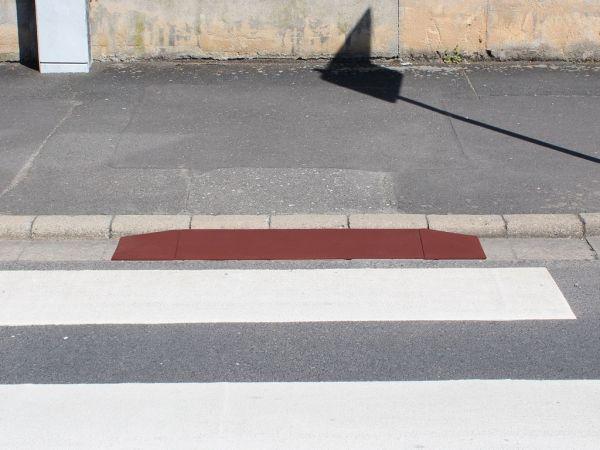 Rollstuhlrampen 2 x 250 mm breit, 65mm hoch