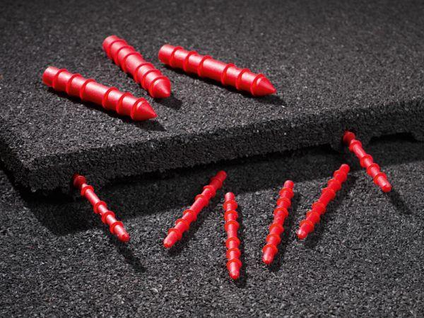 Systemstecker mit Dübelfunktion für Fallschutzplatten ab 40mm
