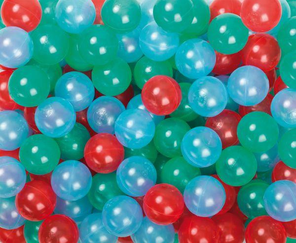 Spiel- und Ballkugel 60 mm, transparent