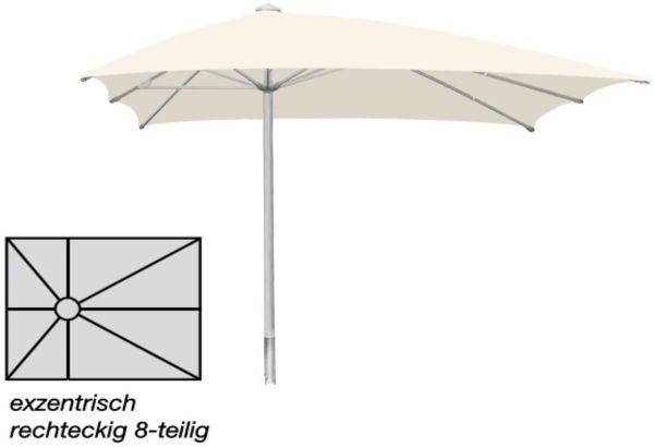 Sonnenschirm Ro-Flex Klima Pro - rechteck/lang exzentrisch