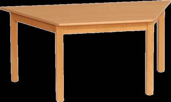 Trapeztisch 120x60cm Dekor: HPL Buche