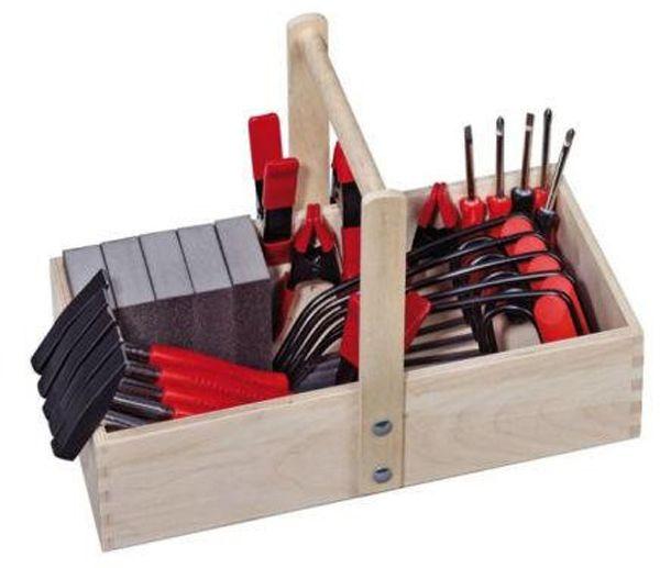Werkzeug-Set für 5 Kinder mit Kiste 3+
