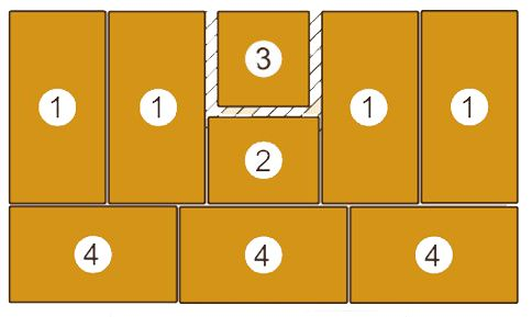 Mattensatz für Turnwand 130004