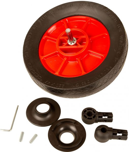 8750064 Vorderrad komplett für Mini-Winther ohne Pedal 433,434,438,440,449,412 und !HR412!