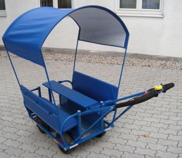 Sonnenschutzdach für Krippen-Ausflugswagen