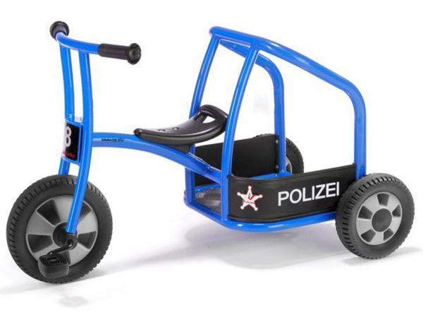 Jakobs Dreirad Polizei aktiv