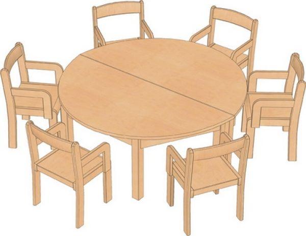 Kombi-Sparset Tisch/Stühle Set 9