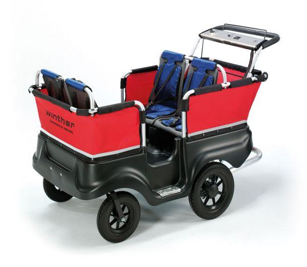 E-Turtle 4-Sitzer Der bewährte Turtlebus mit Elektromotor!