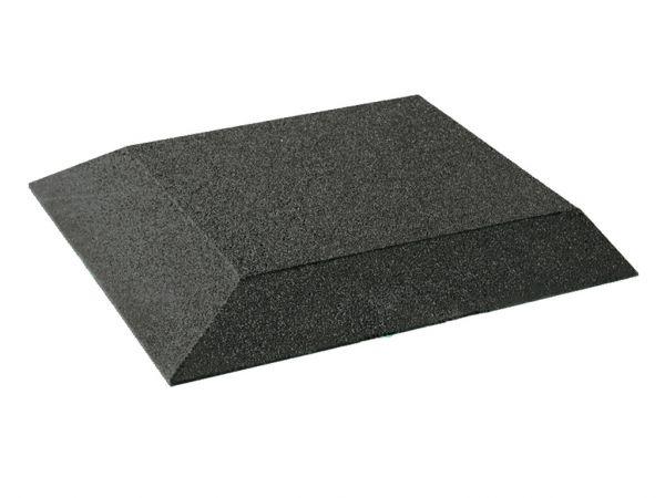 Fallschutz Eckplatten 80 mm, 500x500x80 mm