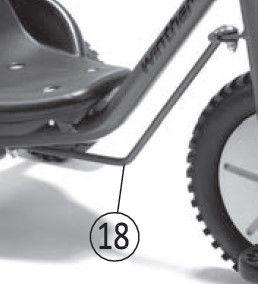 8850783 Lenkstange für für Zlalom Trike 661/662