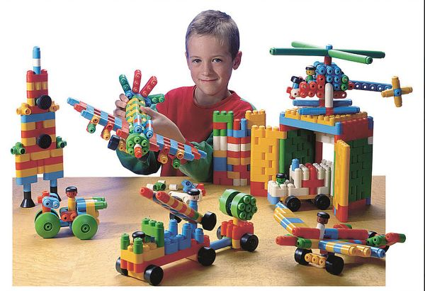 Poly-M Jumbo 550 Teile - für Kinder ab 3 Jahren
