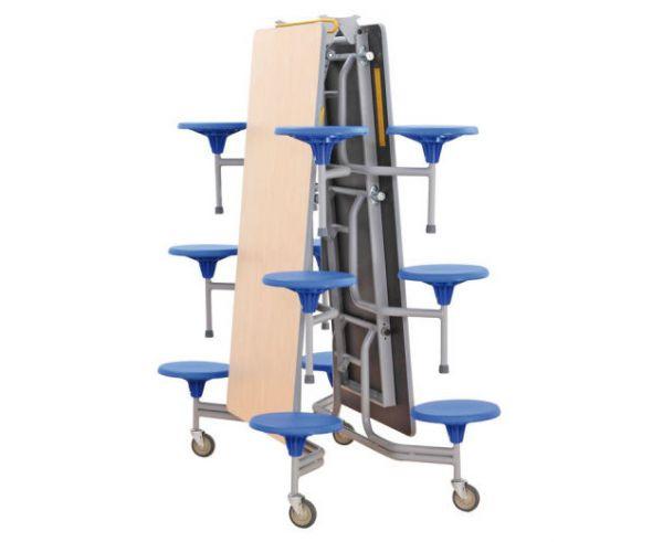 12er-Tisch-Sitz-Kombination, 43,5cm Sitzhöhe