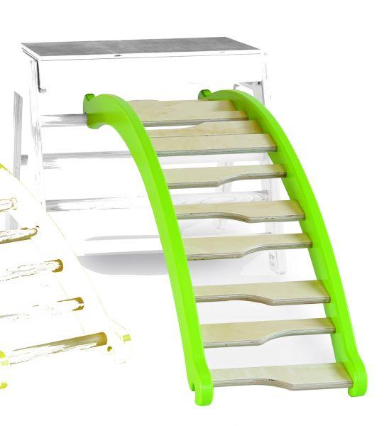 Leiter zum Einhängen, Wangen grün