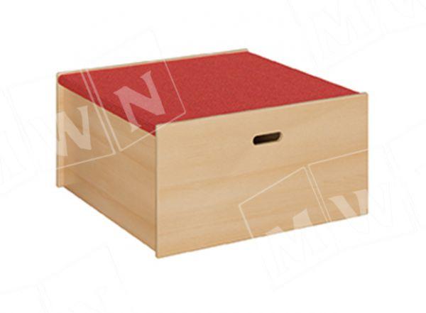 Podest Quadrat groß geschlossen 78x40x78 cm