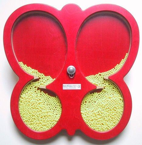 Wandspiel Schmetterling drehbar 48 x48 cm