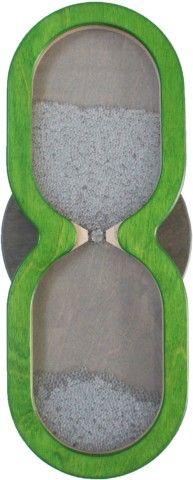 Wandspiel Sanduhr schnell 48 x 18 cm