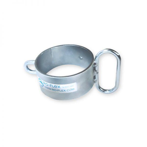 Justiergriff passend für Pfosten Ø 101,6 mmFarbe: grau