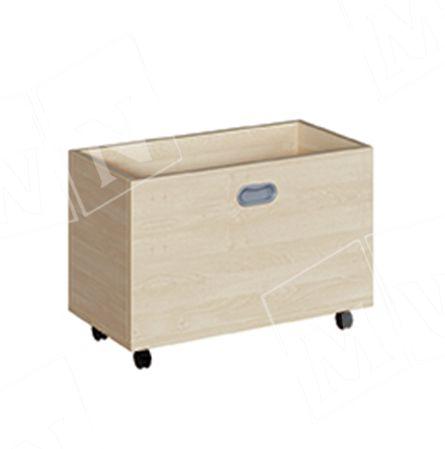 Rollkasten für 46 cm Podeste schmal 62x42x32 cm