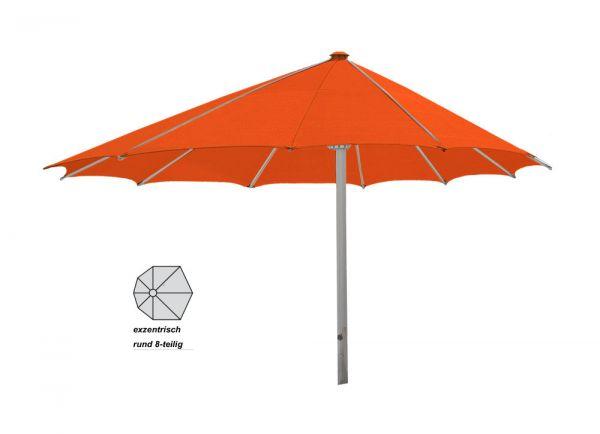 Sonnenschirm Ro-Flex Klima Pro - rund exzentrisch