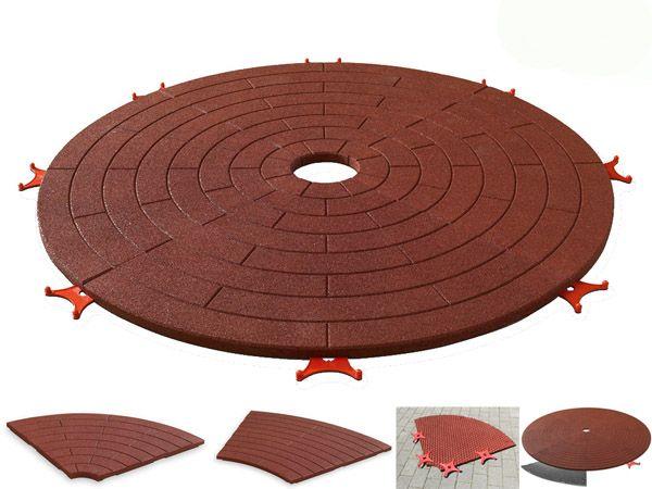 Erweiterung Spielgeräteunterlage auf Ø 3800 mm 35 mm