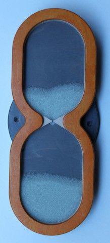 Wandspiel Sanduhr langsam 48 x 18 cm