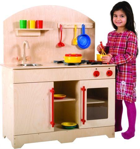 Kinderküche groß 110 x 93 cm
