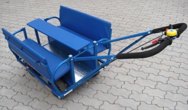 Krippenwagen Ausflugswagen 6Sitzer mit PU-Reifen, passensicher