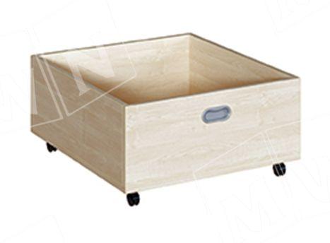 tiefer Rollkasten für 35 cm Podeste 62x31x66 cm
