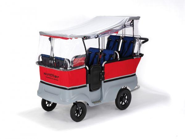 8819092 Regenschutz für 6-Sitzer Kinderbus