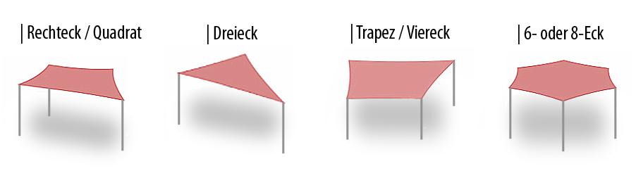 sonnensegel-formen