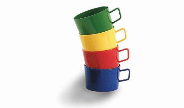 Tasse 0,20 l, Ø 7,5 cm, H 5 cm aus Polycarbonat