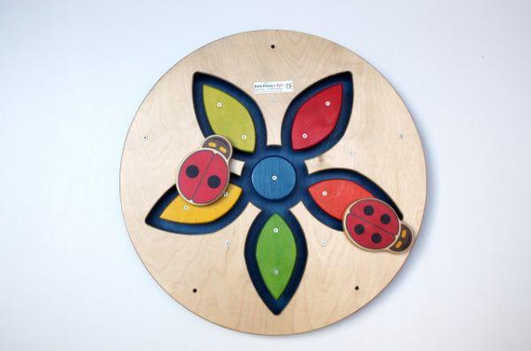 Wandspiel Wunderblume 48 x48 cm