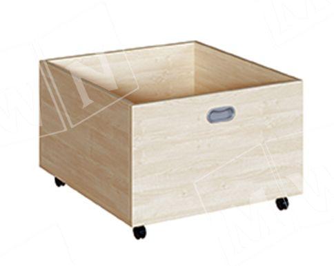 tiefer Rollkasten für 46 cm Podeste 62x42x66 cm