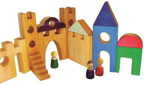 Spieldorf 10 Teile Bauspiel